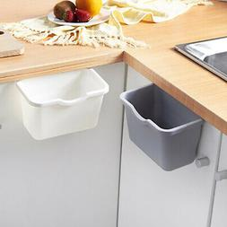 Kitchen Hanging Desktop Trash Can Multifunction Plastic Garb