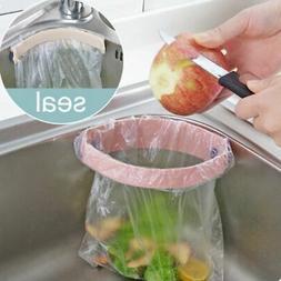Kitchen Portable Plastic Door Sink Garbage Sucker Trash Bag