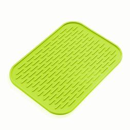 Kitchen Sink Mat Dishes Cup Dry Mat Rack Silicone Pot Holder