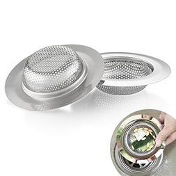 Kitchen Sink Strainer, Cozzine 4.5 Inch Dia Stainless Steel