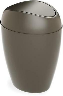 Kitchen Trash Can Swing Top Lid 2.4 Gallon Home Office Bathr