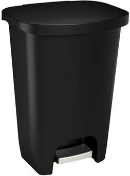 Kitchen Trash Can With Lid Trashcan Bathroom Wastebasket Gar