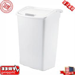 Rubbermaid Kitchen Waste Basket Garbage Bin 11.25 Gal. Dual
