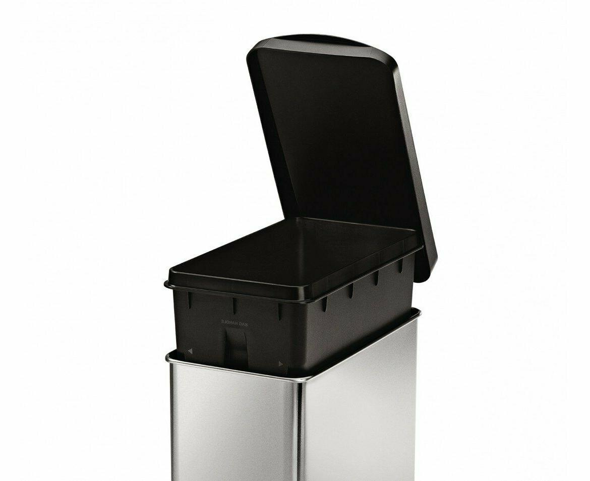 simplehuman 10 Gallon Slim Trash