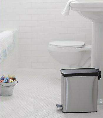 simplehuman 10 Gallon Bathroom Slim