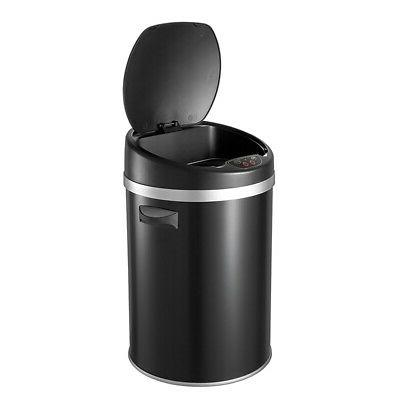 Automatic Sensor Touchless Can Stainless Steel Garbage Basket