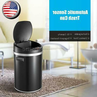 Automatic Can Stainless Steel Garbage