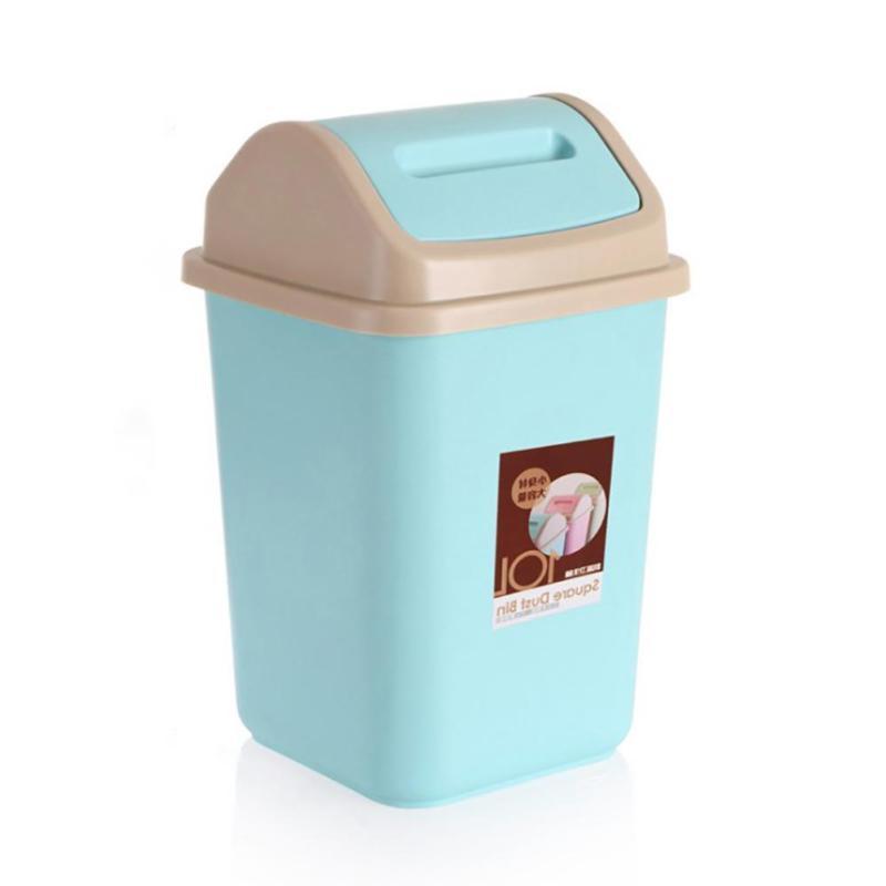 Waste Bin Office Trash Can Storage Lid