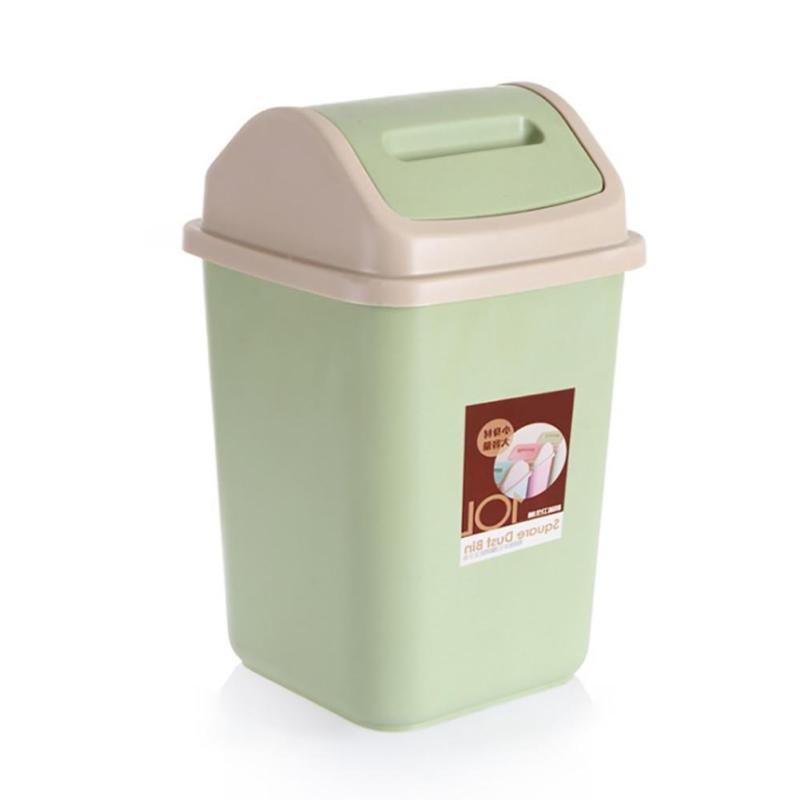10L Household Waste Home Office Trash Lid