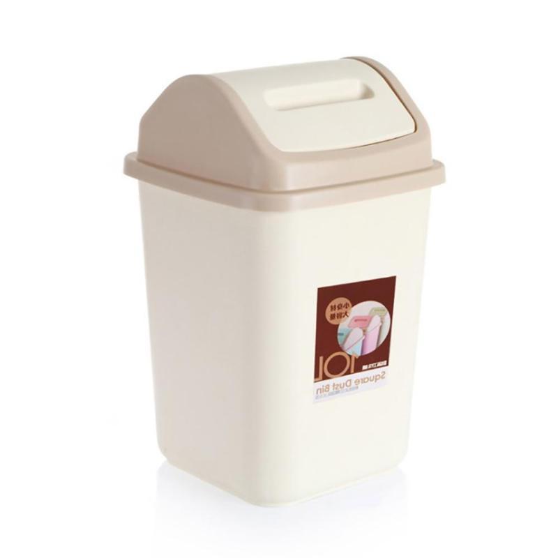 10L Household Garbage Waste Bin Trash Can Storage Lid