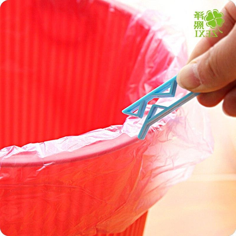 10PCS Trash Bag Fixed Clip Waste Rubbish <font><b>Garbage</b></font> Clamp Holder kitchen accessories Free Shipping