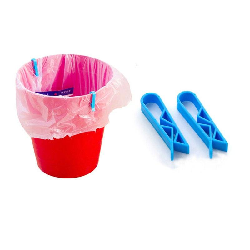 10PCS Bag Fixed Clip Basket Rubbish Clamp Holder For