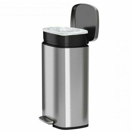 13.2 Gallon Step Trash Can Garbage Storage
