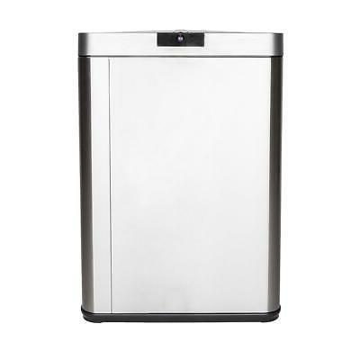 13 Gallon Touchless Trash Stainless