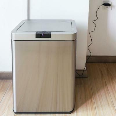 13 gallon automatic sensor touchless garbage trash