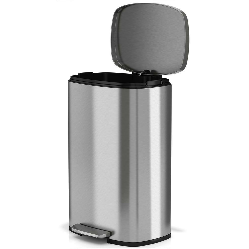 13 Can Steel Trash Can Home Office