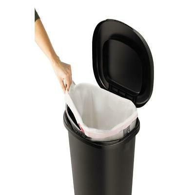 13 Plastic Waste Basket w/ Lid