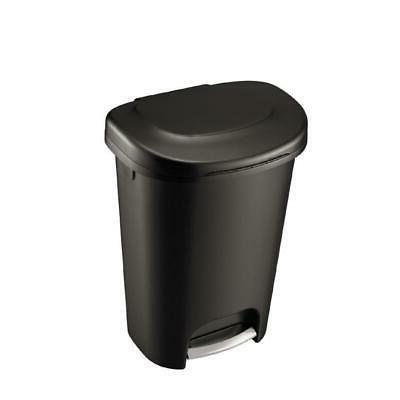 Durable Step On Trash Can Garbage Bin Waste Container Indoor