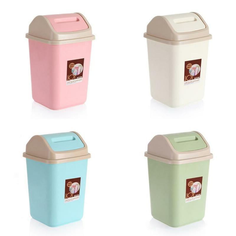 10l household garbage basket waste bin home