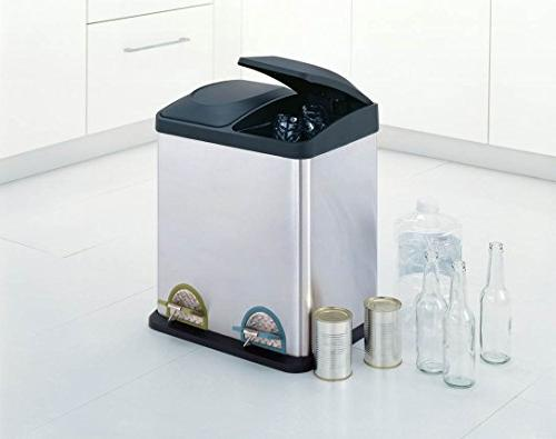 Organize 30L Step-On Recycling