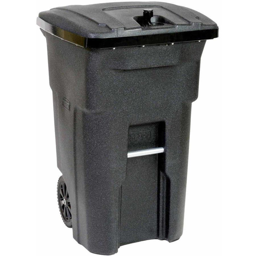 Toter 2 Wheel Bear Resistant Trash Can Cart 64