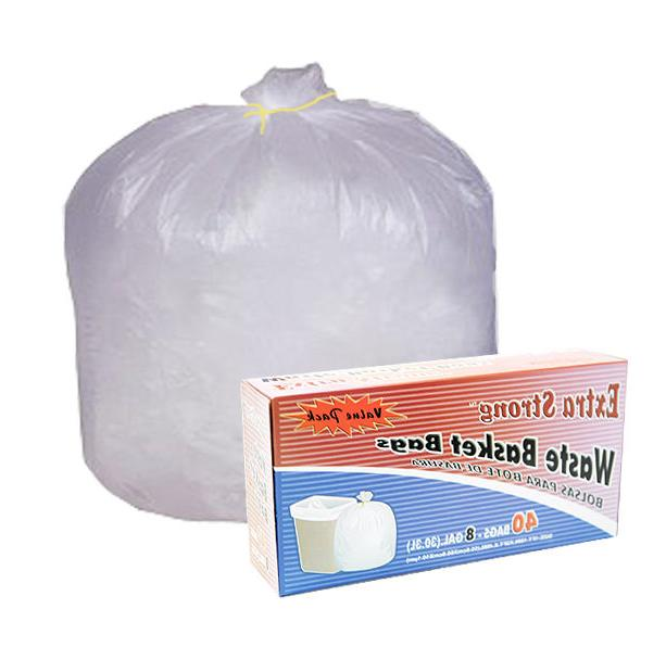 210~ 8 Waste Basket Bags Trash Can Up