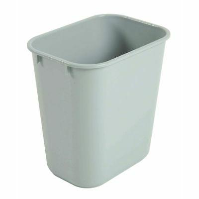 295500gray plastic garbage cans 13 qt soft