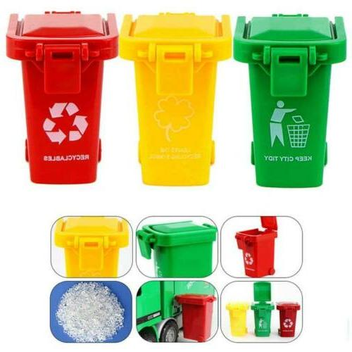 3 Trash Can Garbage Truck Trash Can for