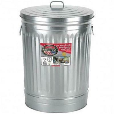 31 Steel Round Trash Garbage Disposal Weather