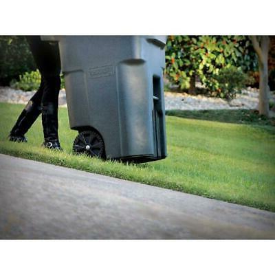 Toter Gallon Duty Garbage Trash Bin With Wheels
