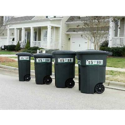 Toter 32 Duty Bin With Wheels And