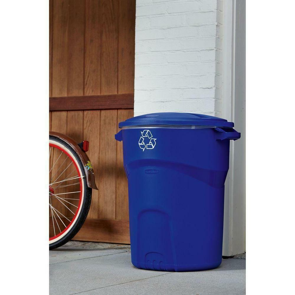 32 GALLON Plastic Standard Trash Lid
