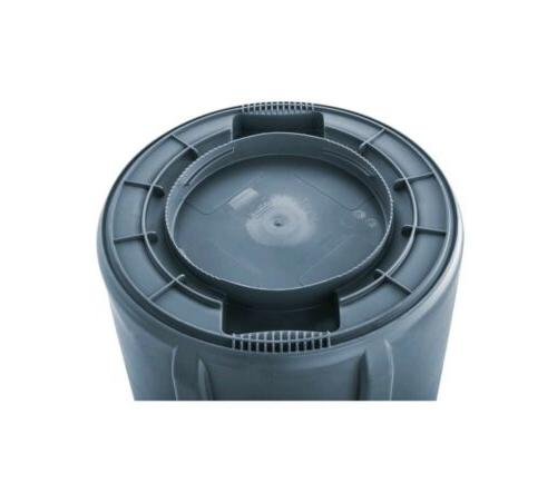 32 Gallon Can Commercial Garbage Container Outdoor