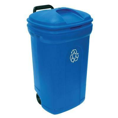 34GAL BLU Recycling Can