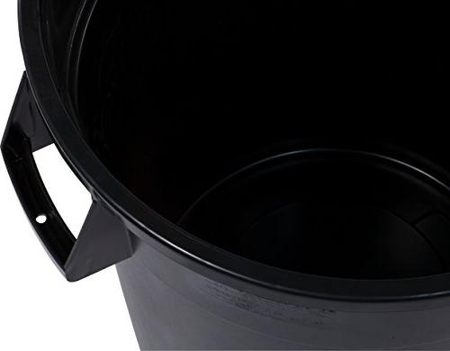 Carlisle 34103203 Bronco Waste Container Only, Gallon, Black