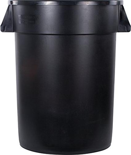 Carlisle Round Waste Container Only, Gallon, Black