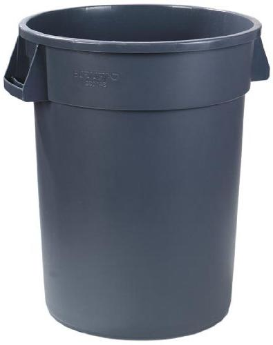 Carlisle Round Waste Gallon, Gray