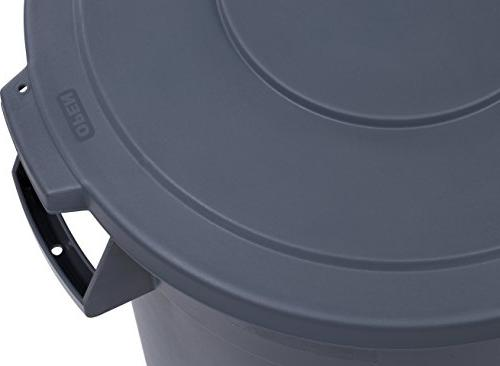 Carlisle 34103223 Bronco Waste Container Only, Gallon, Gray