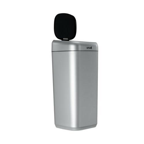 35L Trash Touchless Infrared Motion Sensor Garbage for Kitchen