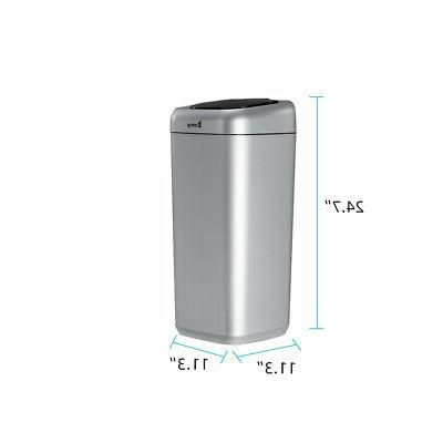 35L Trash Can Touchless Sensor Automatic Stainless Touch Free