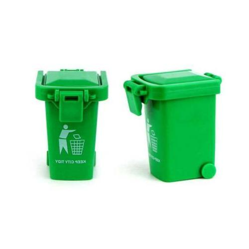 3 Mini Trash Can Garbage Truck Can for