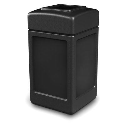 42 gal square commercial trash can