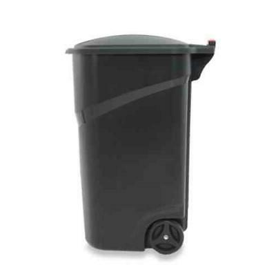 Roughneck Trash with Hinged by 45 Bin
