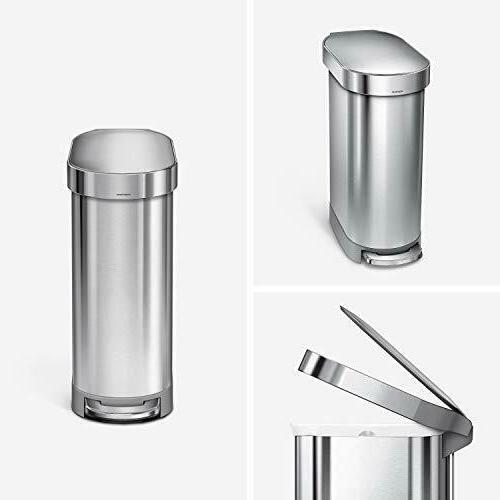 simplehuman Liter 12 Gallon Kitchen w Liner