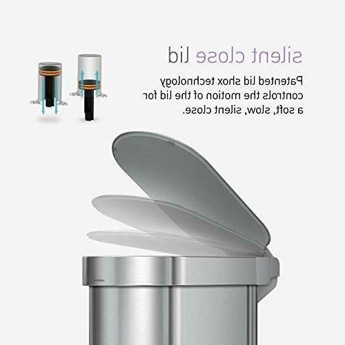 simplehuman 45 Liter 12 Kitchen w Liner