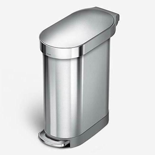 45 liter 12 gallon slim hands free