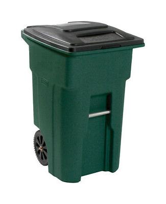 48 gal polyethylene wheeled garbage can lid