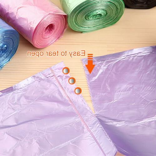 5 Trash Storage Colored Disposable Garbage Bags