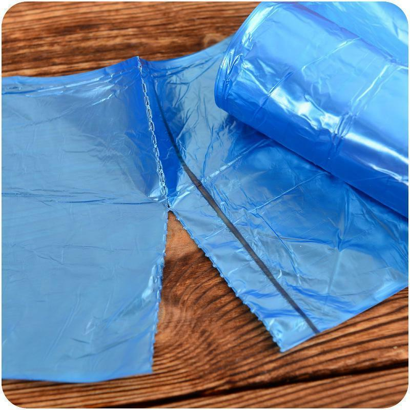 5 Rolls/Pack Trash Disposable Garbage Bags