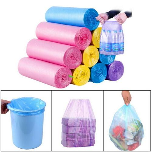 5 Rolls/Pack Trash Disposable Bags